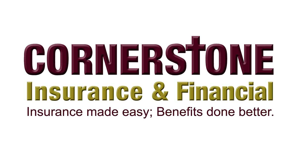cornerstone insurance and financial logo