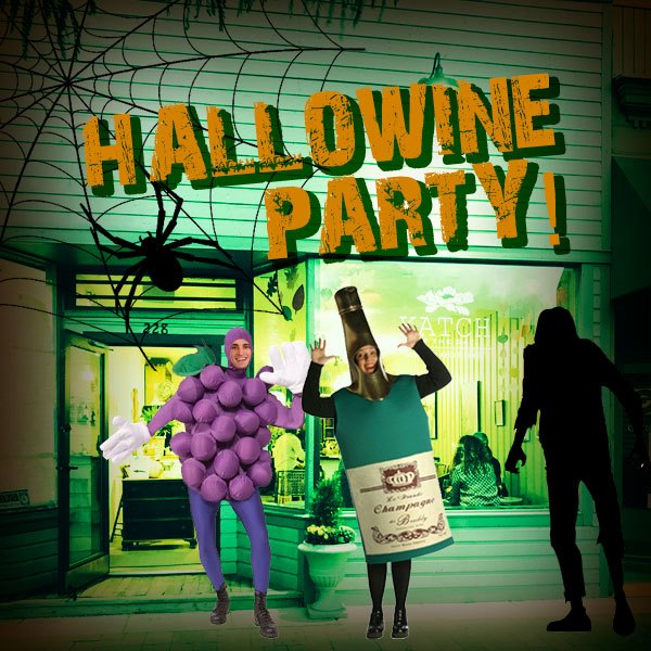 hallowine party katch of the day