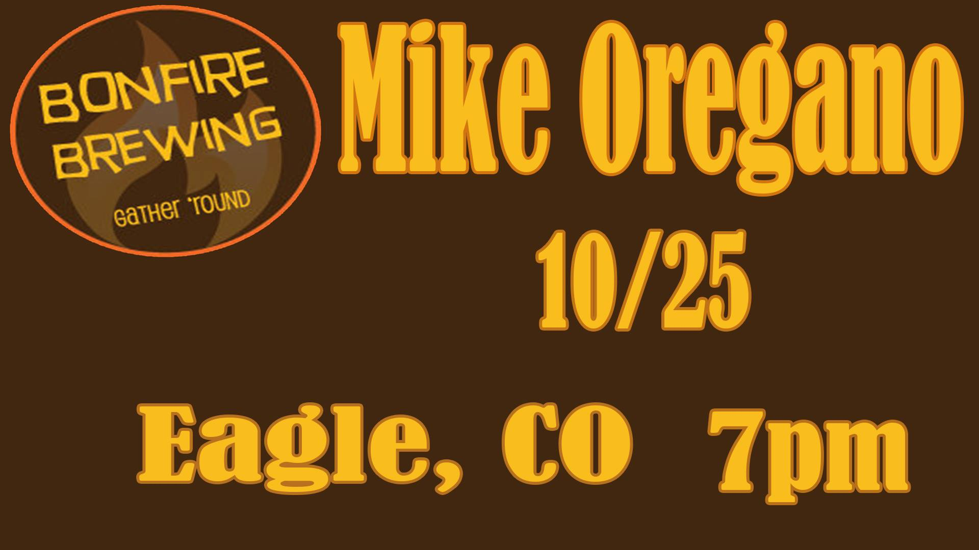 mike oregano bonfire brewing